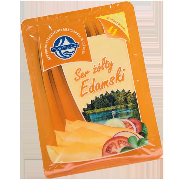 Ser żółty Edamski plastry
