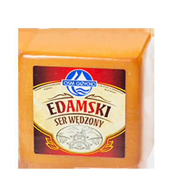 Ser Edamski wędzony blok